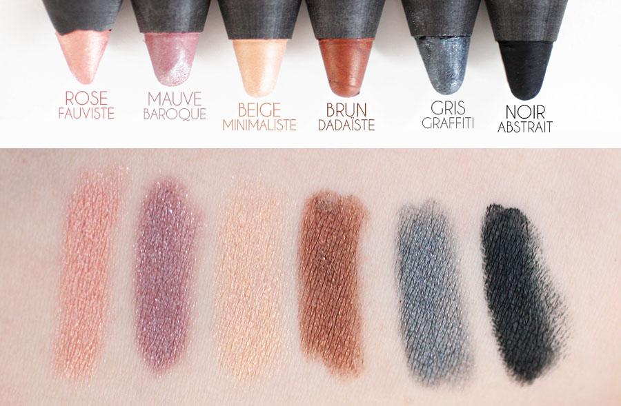 Ombre à paupière & Liner Colorband - Bourjois