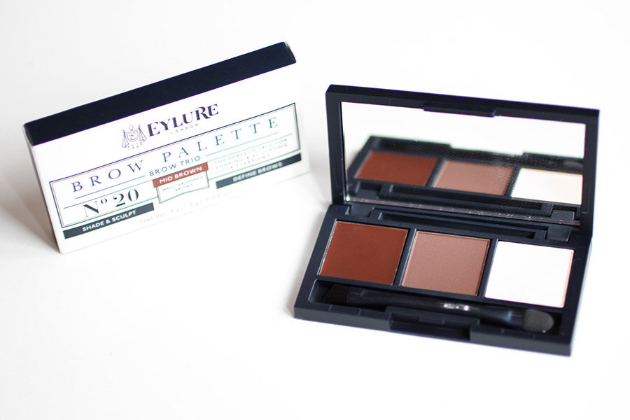 Brow Trio Palette Mid Brown
