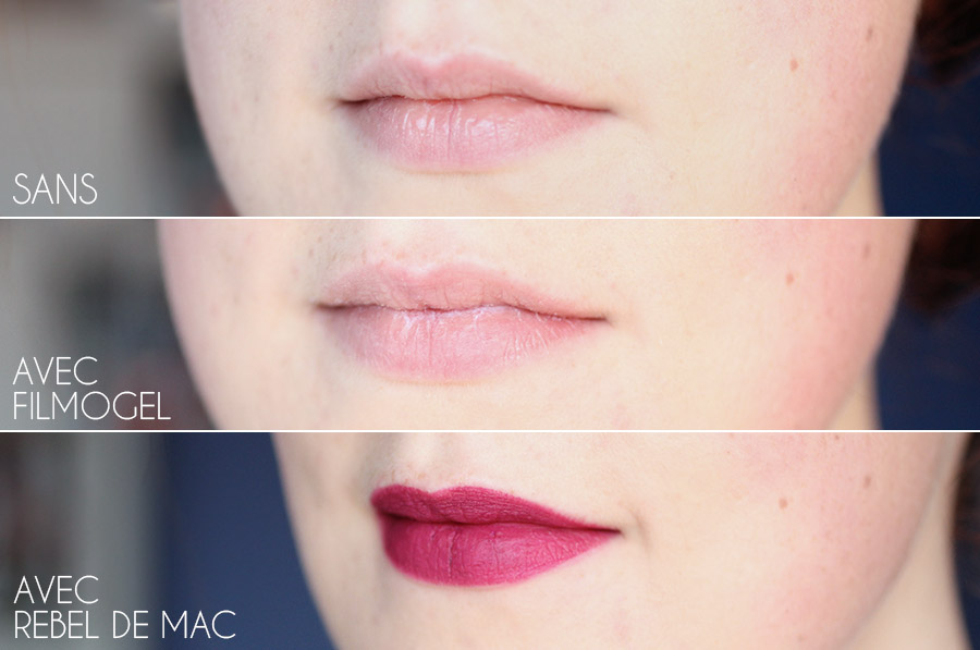 Filmogel pour lèvres abîmées - Urgo