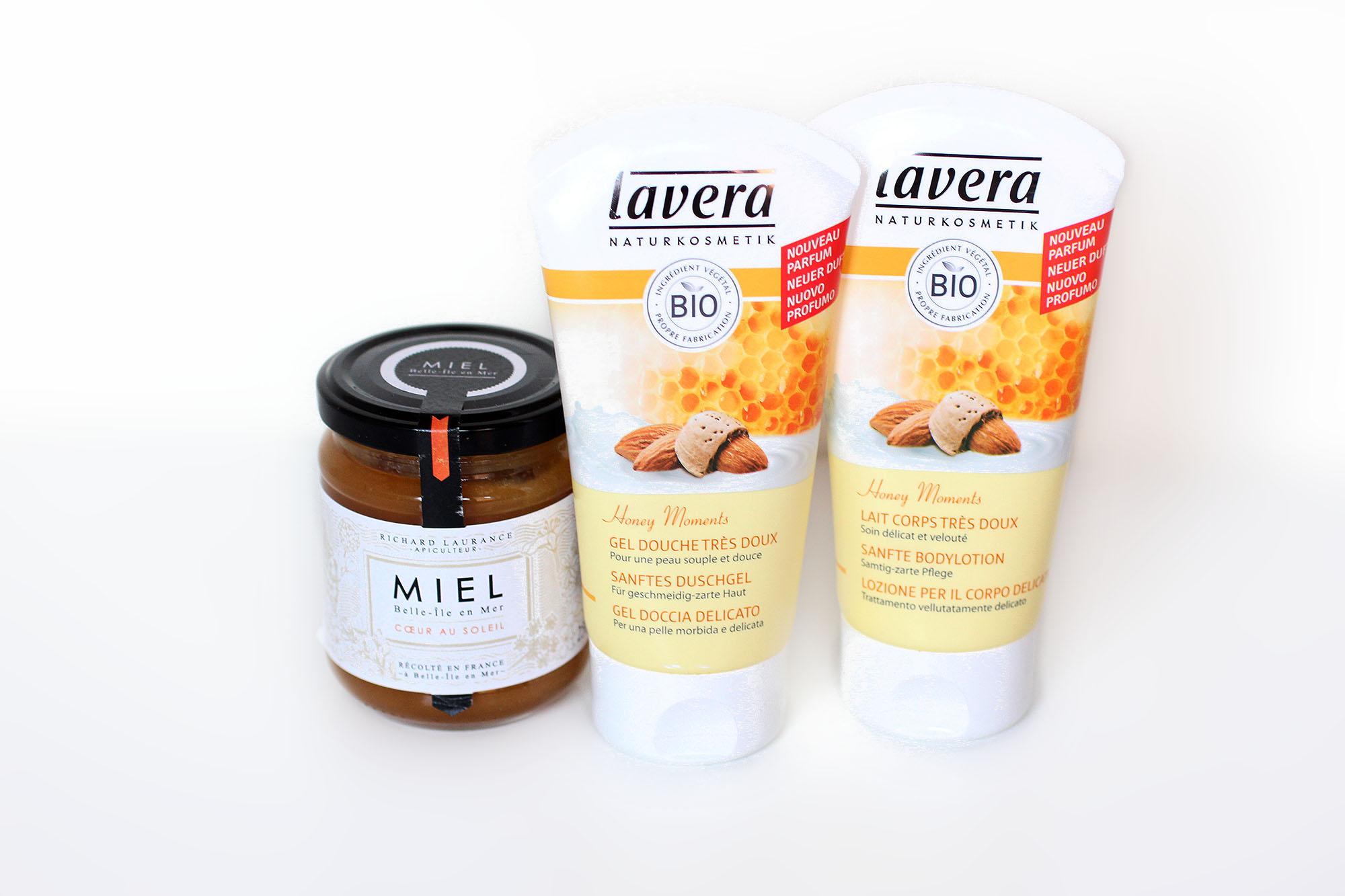 Honey Moments : Gel douche & Lait Corps - Lavera