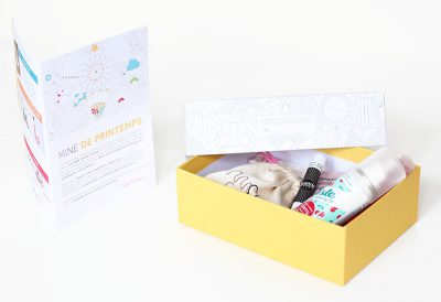 Birchbox Mars 2015 / Colour Your Box