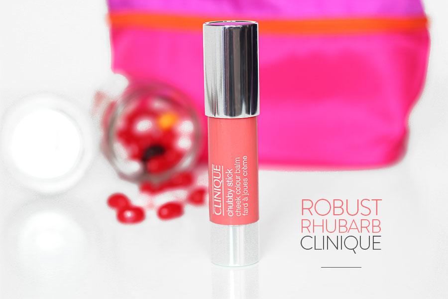 Chubby Stick Check Colour Balm n°02 Robust Rhubarb - Clinique