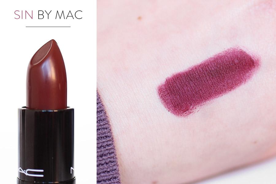 Rouge à lèvres Sin - MAC