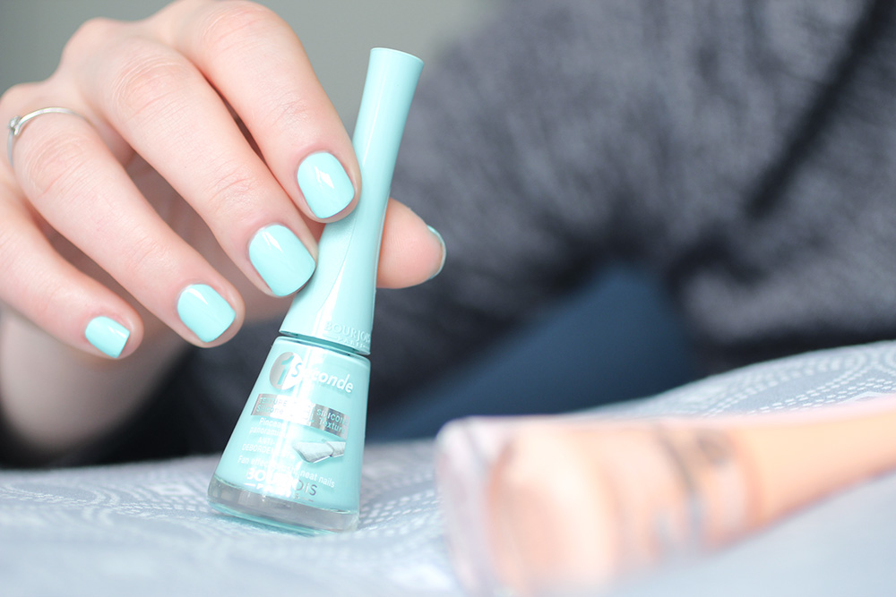 Swimming Cool / Vernis 1 Seconde n°50 Blue Lagoon - Bourjois