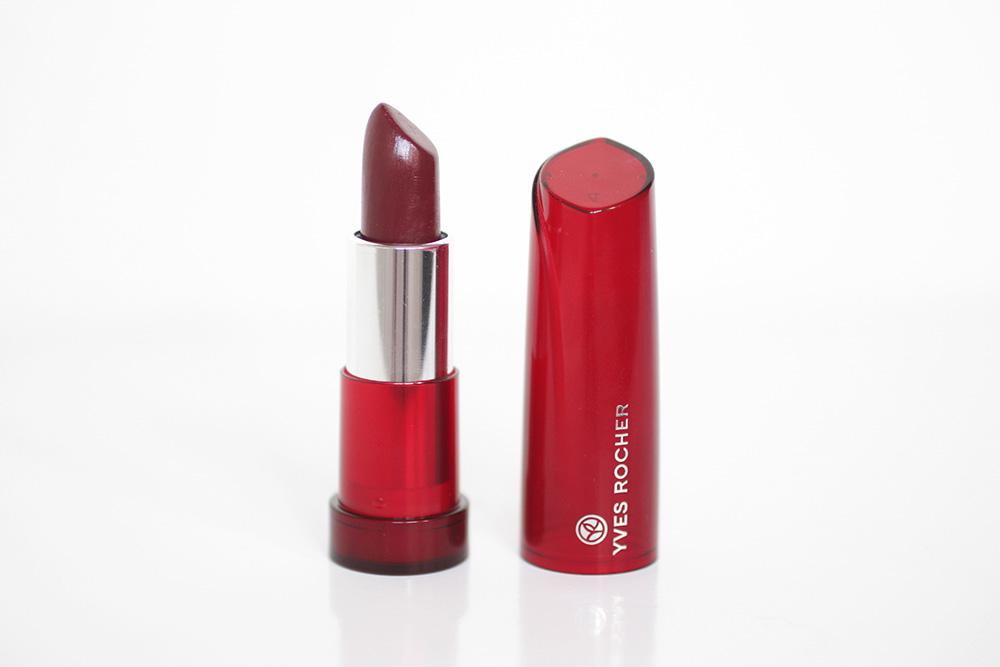 Rouge Brillance Végétale n°52 Cerise Noire - Yves Rocher