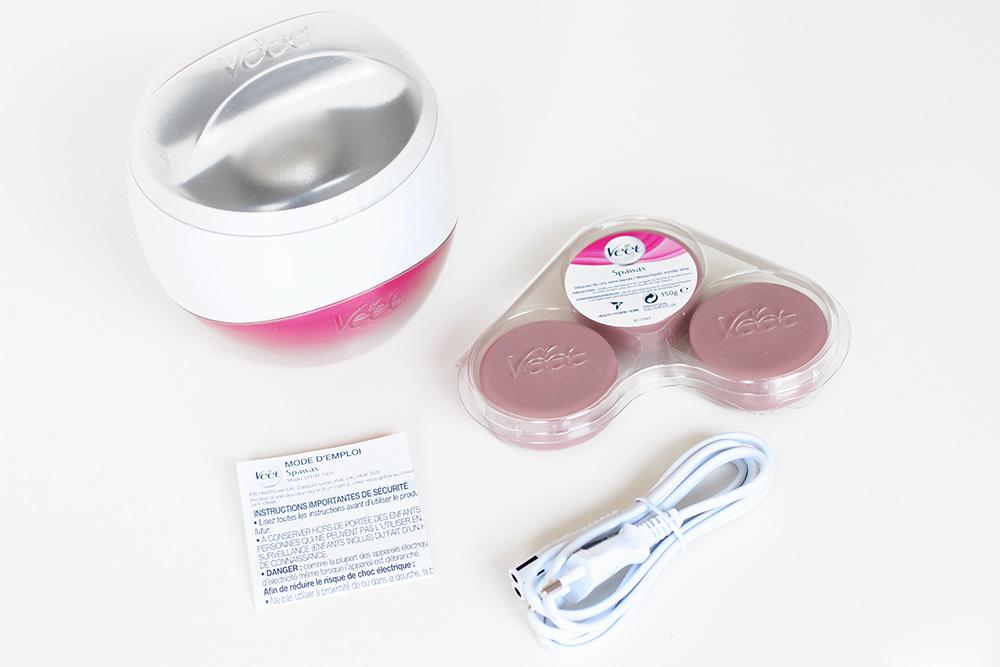 Spawax Chauffe-cire électrique - Veet