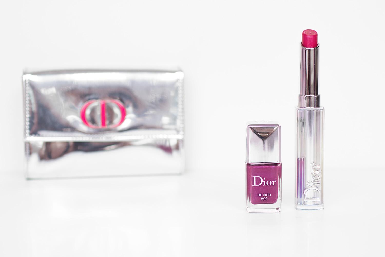 Dior Addict : Rouge à lèvres + vernis Be Dior