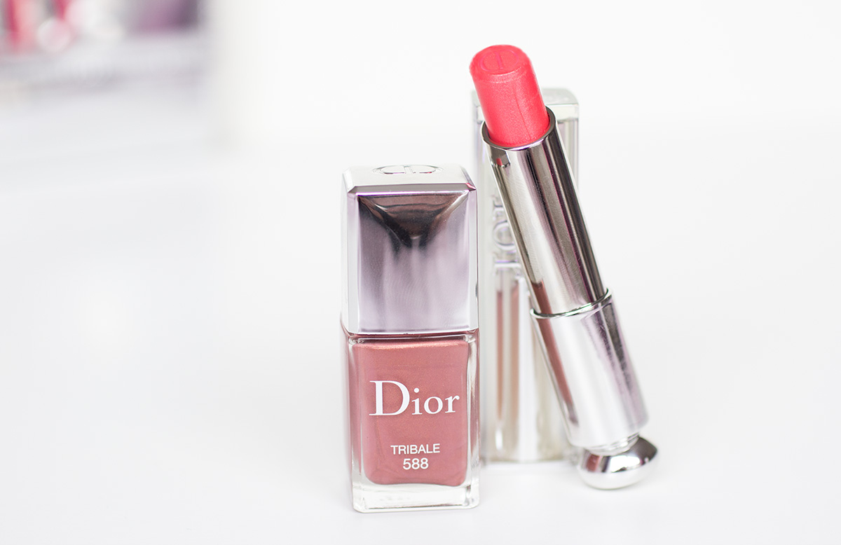 Dior Addict : Rouge à lèvres + vernis n°588 Tribale