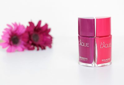 La Laque Flambant Rose & Beach Violet – Bourjois