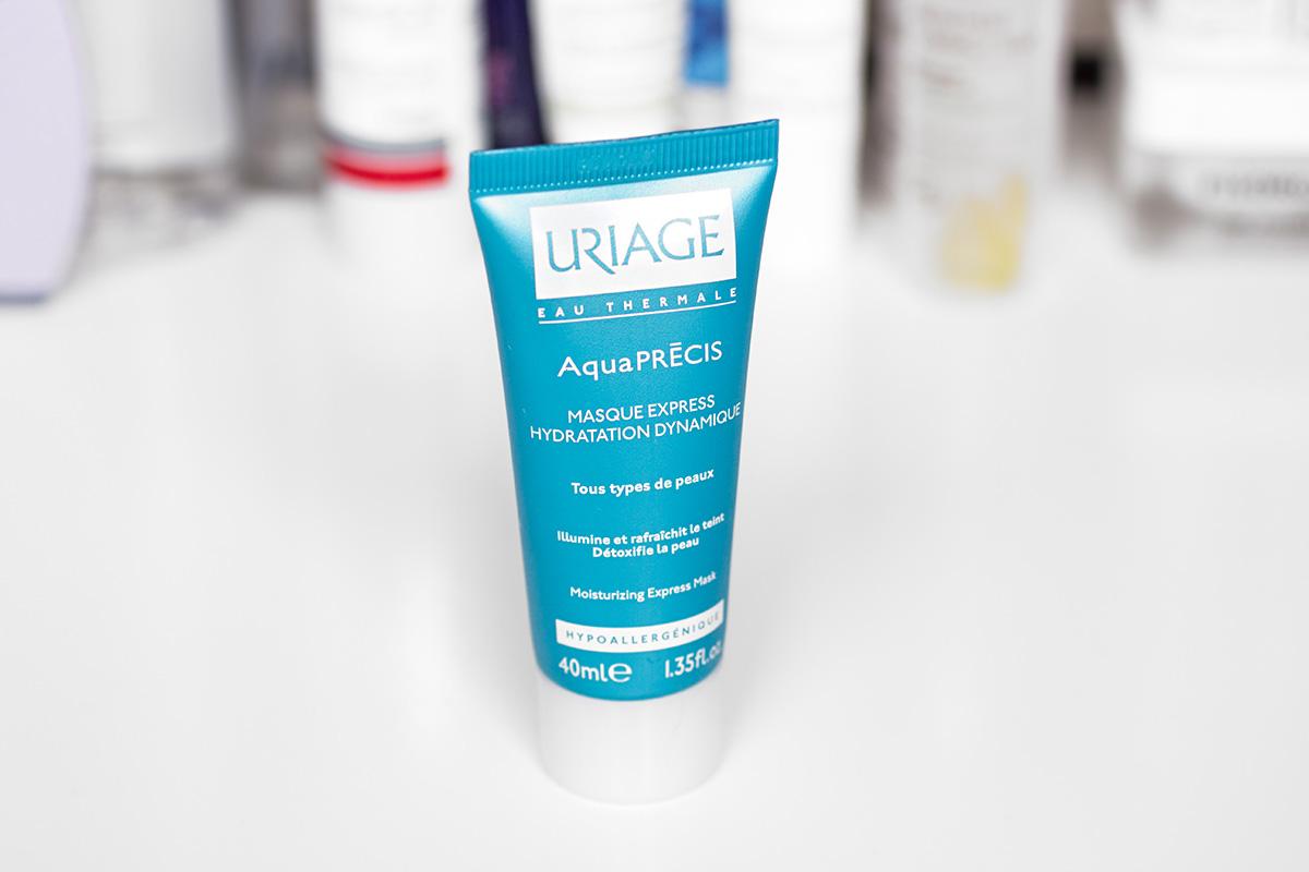Masque Express hydratation dynamique Aquaprécis - Uriage