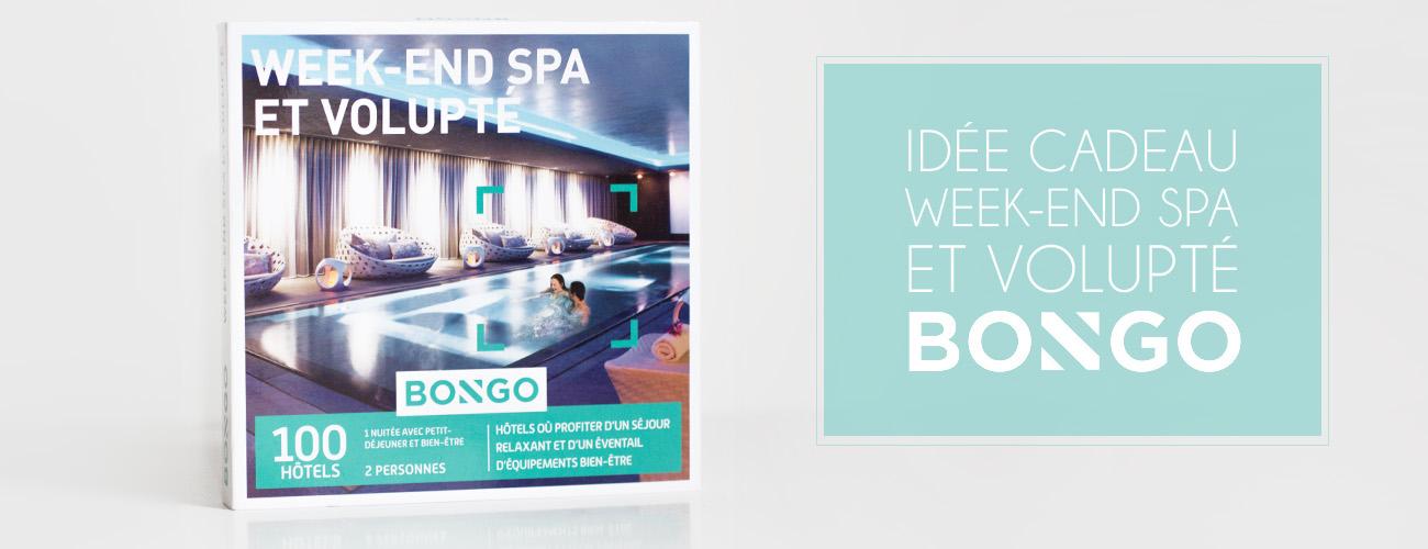Idée cadeau : Le Bongo Week-end Spa et Volupté
