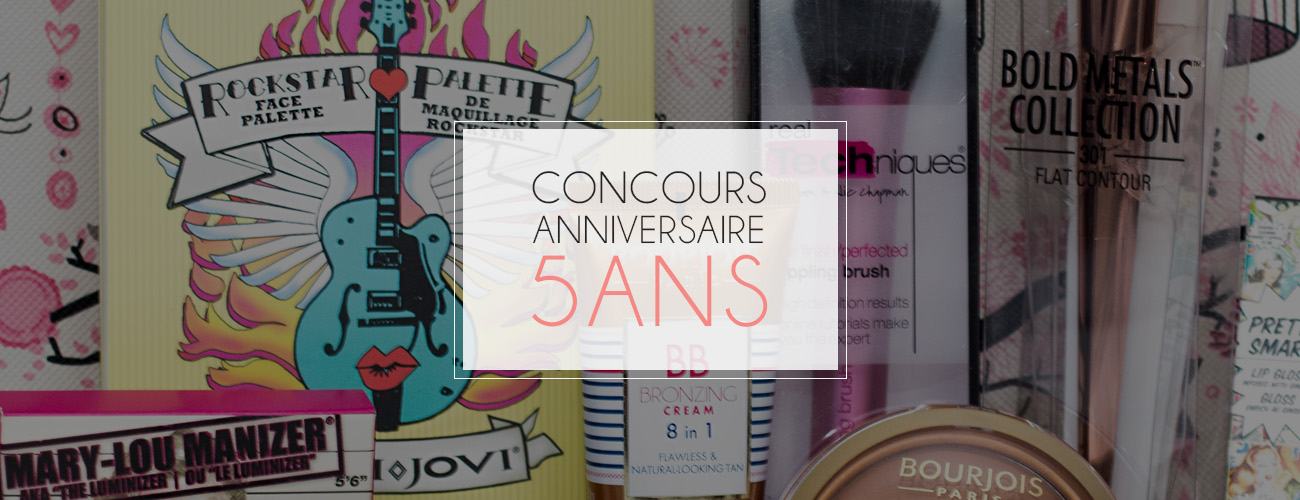 [Concours – 5 ans] Lot maquillage – Di Beauty