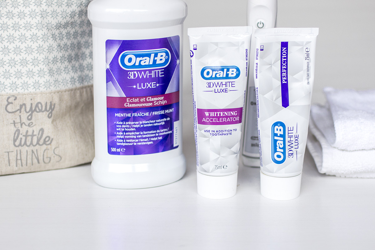Oral-B - 3D White Luxe