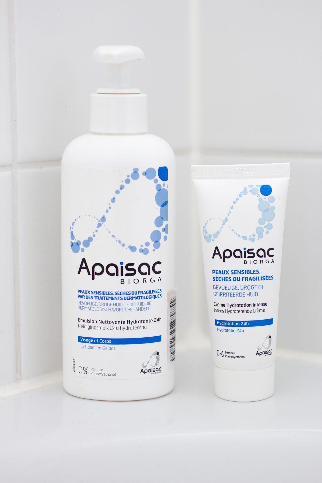 Gamme hydratation peaux sensibles - Apaisac Biorga
