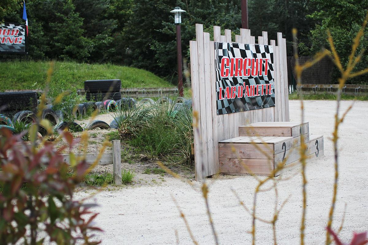 Center Parcs du domaine Le Lac d'Ailette / Karting