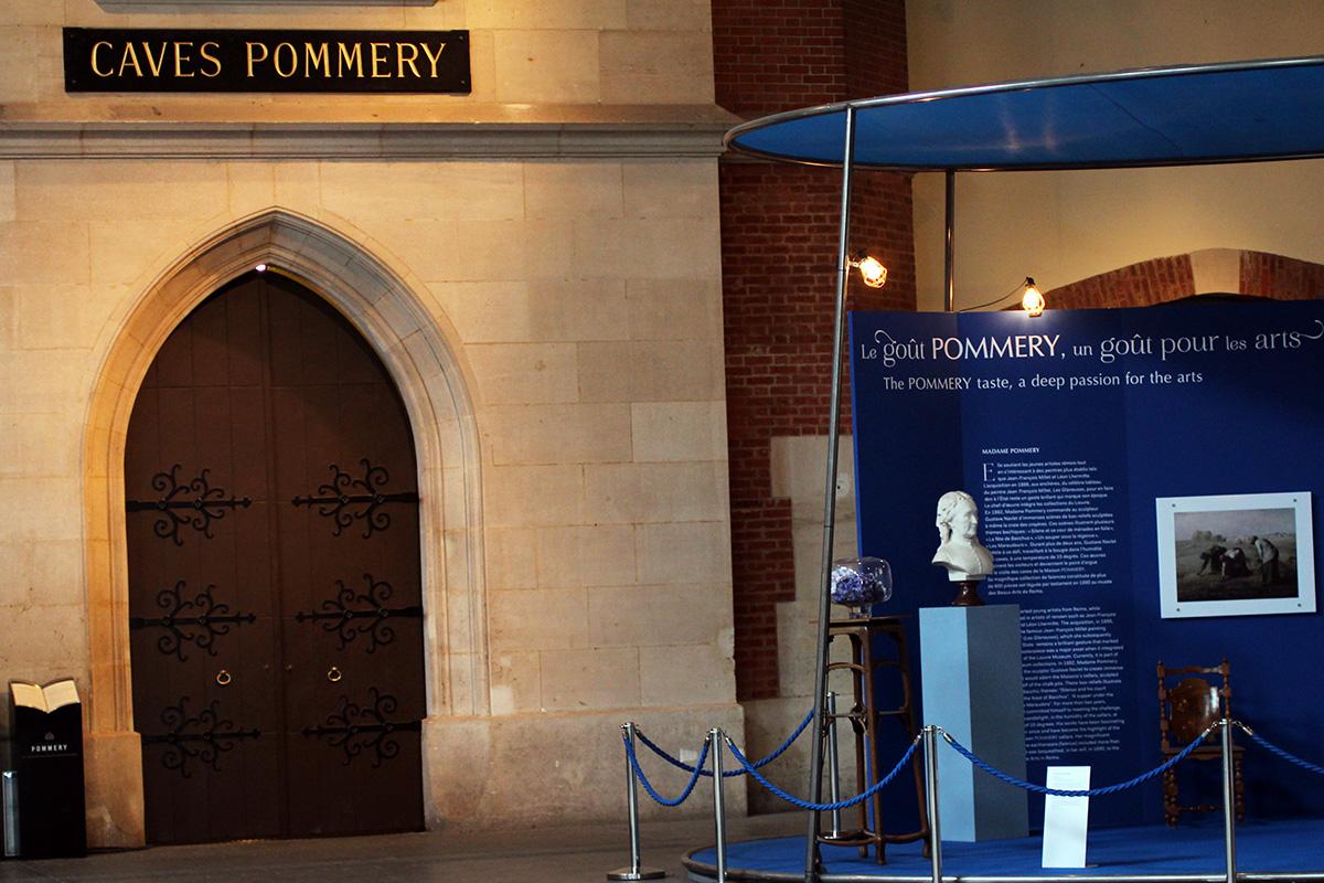Les caves de Pommery