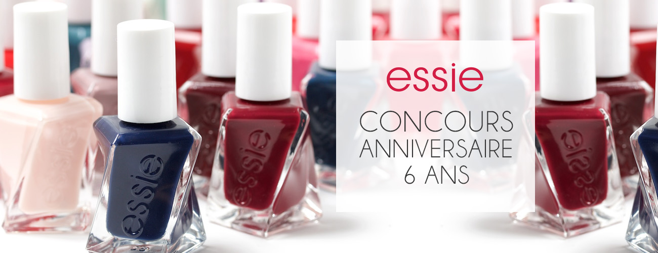 [Concours – 6 ans] 5 vernis Gel Couture au choix – Essie