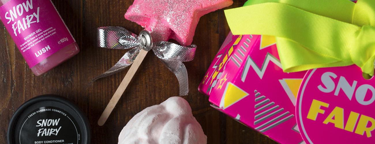 [Concours – 6 ans] Coffret Noël Snow Fairy – Lush