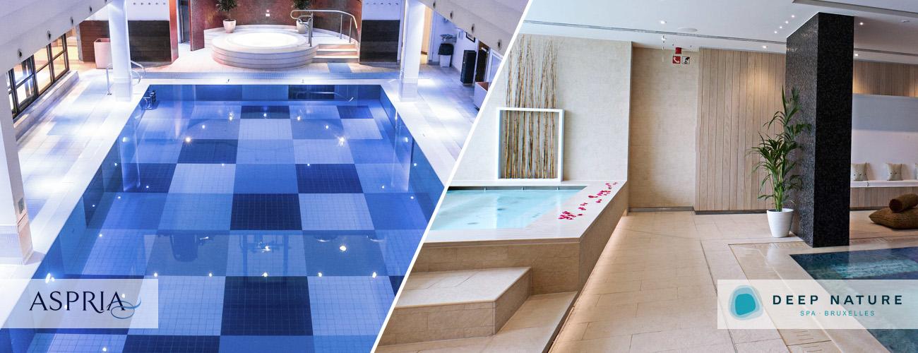 Deux spa sur Bruxelles, deux moments d'exception !